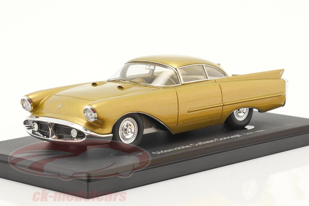 autocult-1-43-oldsmobile-cutlass-concept-car-annee-de-construction-1954-or-metallique-60066/