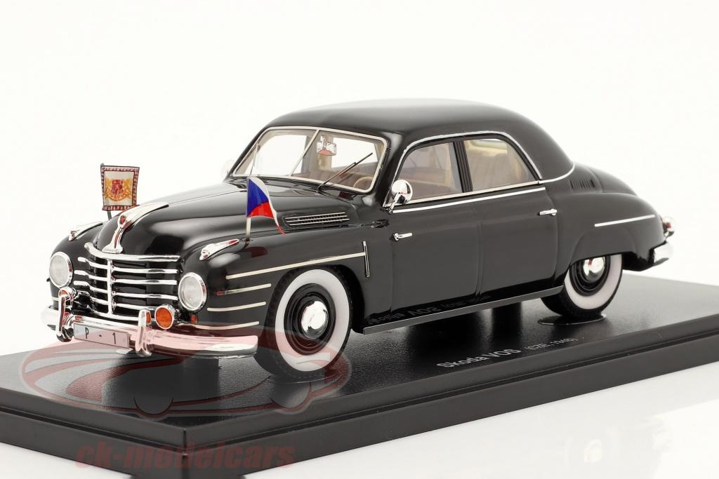 autocult-1-43-skoda-vos-government-special-vehicles-czechoslovakia-1948-black-60061/