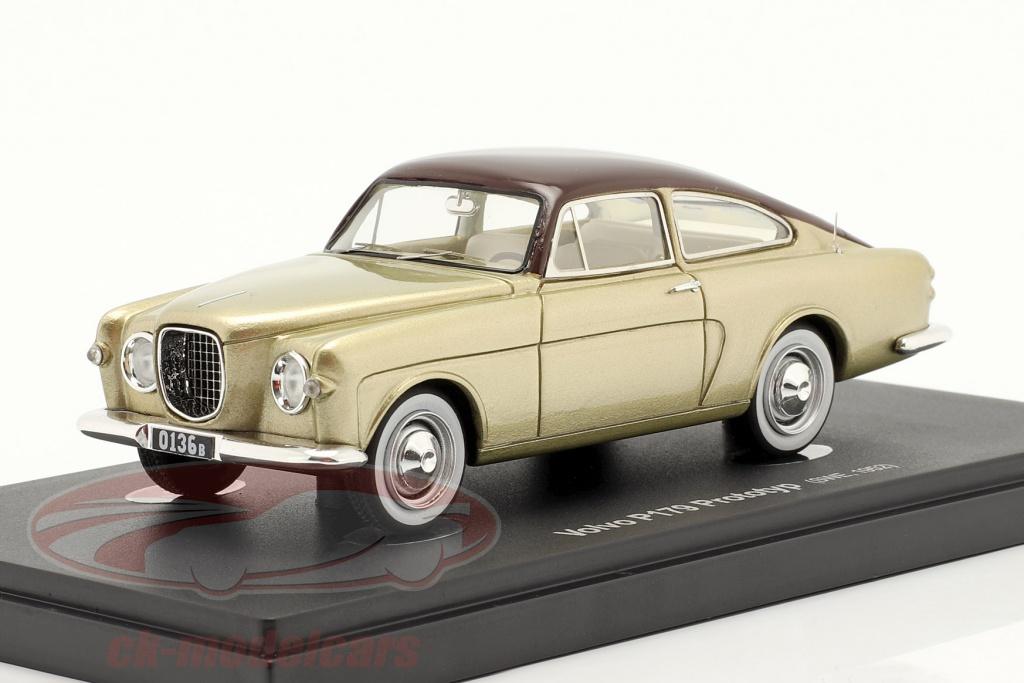 autocult-1-43-volvo-p179-prototype-bygger-1952-guld-brun-60065/