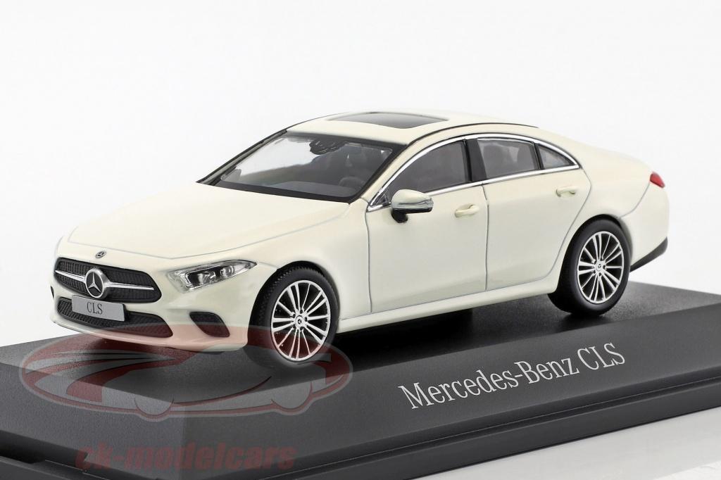 norev-1-43-mercedes-benz-cls-coupe-c257-ano-de-construcao-2018-designo-diamante-branco-b66960544/