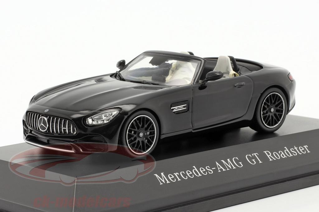 spark-1-43-mercedes-benz-amg-gt-roadster-bouwjaar-2017-magnetiet-zwart-metalen-b66960408/