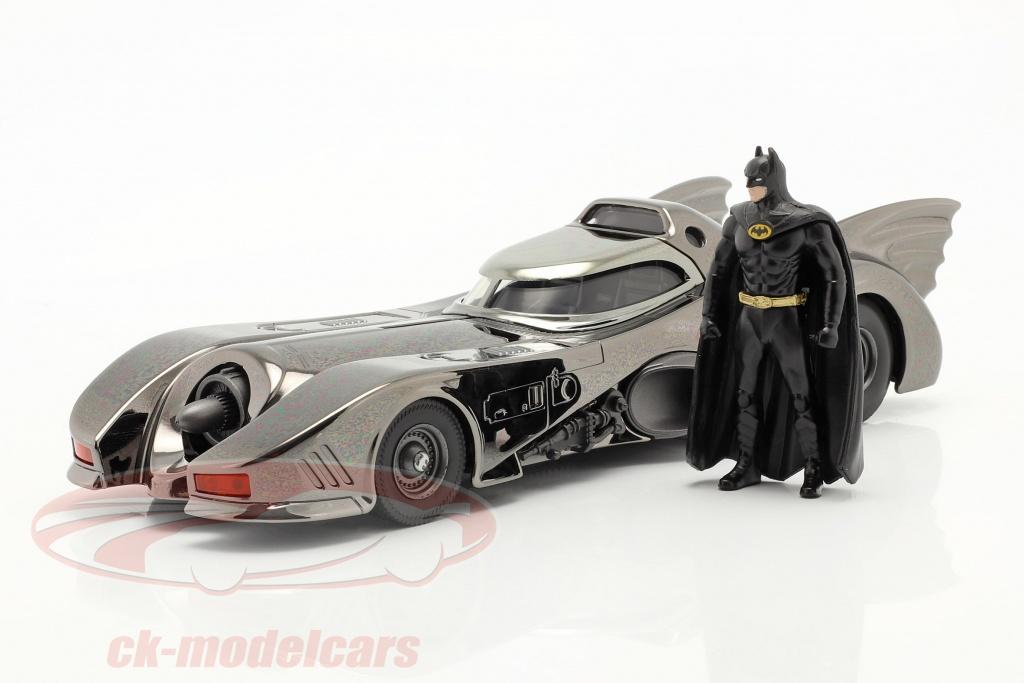 jadatoys-batmobil-mit-figur-film-batman-1989-schwarz-verchromt-1-24-253215009/