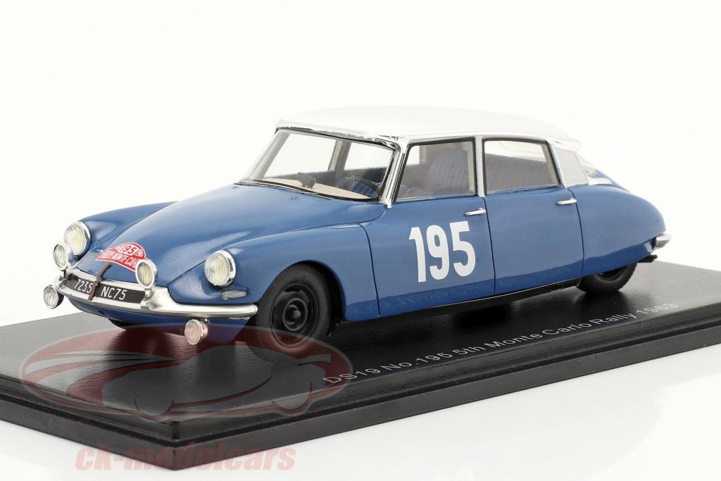 spark-1-43-citroen-ds19-no195-quinto-rallye-monte-carlo-1963-neyret-terramorsi-s5533/