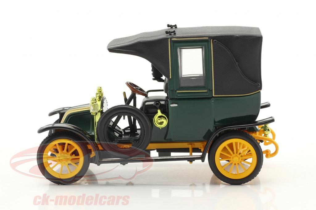 norev-1-43-renault-type-ag-year-1905-1914-green-black-yellow-ck70203/