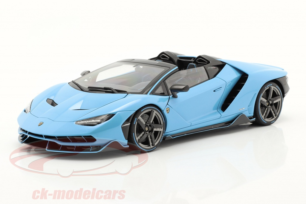 autoart-1-18-lamborghini-centenario-roadster-year-2016-light-blue-79206/