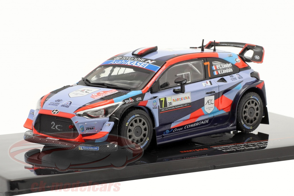 ixo-1-43-hyundai-i20-coupe-wrc-no7-rally-sardinia-2020-loubet-landais-ram764lq/
