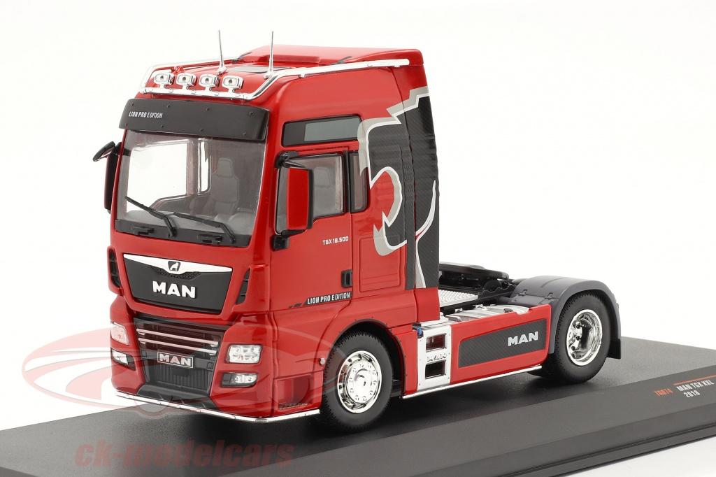 ixo-1-43-man-tgx-xxl-lion-pro-edition-anno-di-costruzione-2018-rosso-tr074/