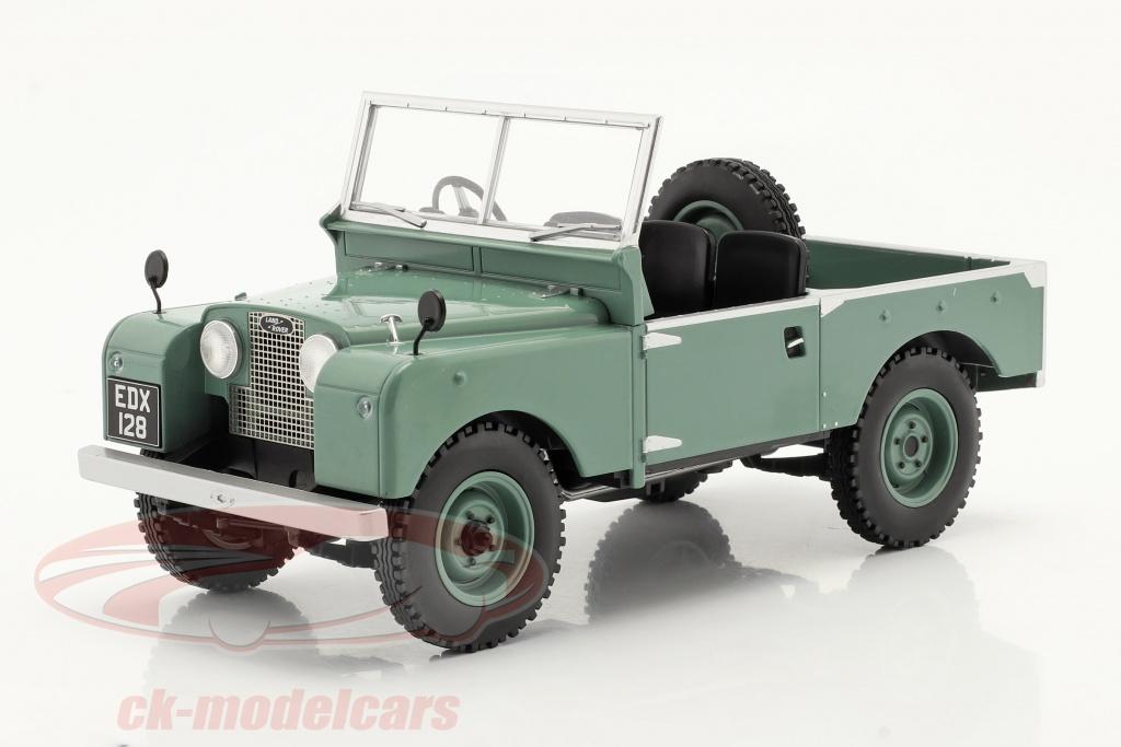 modelcar-group-1-18-land-rover-series-i-rhd-sans-pour-autant-capote-annee-de-construction-1957-vert-clair-mcg18180/