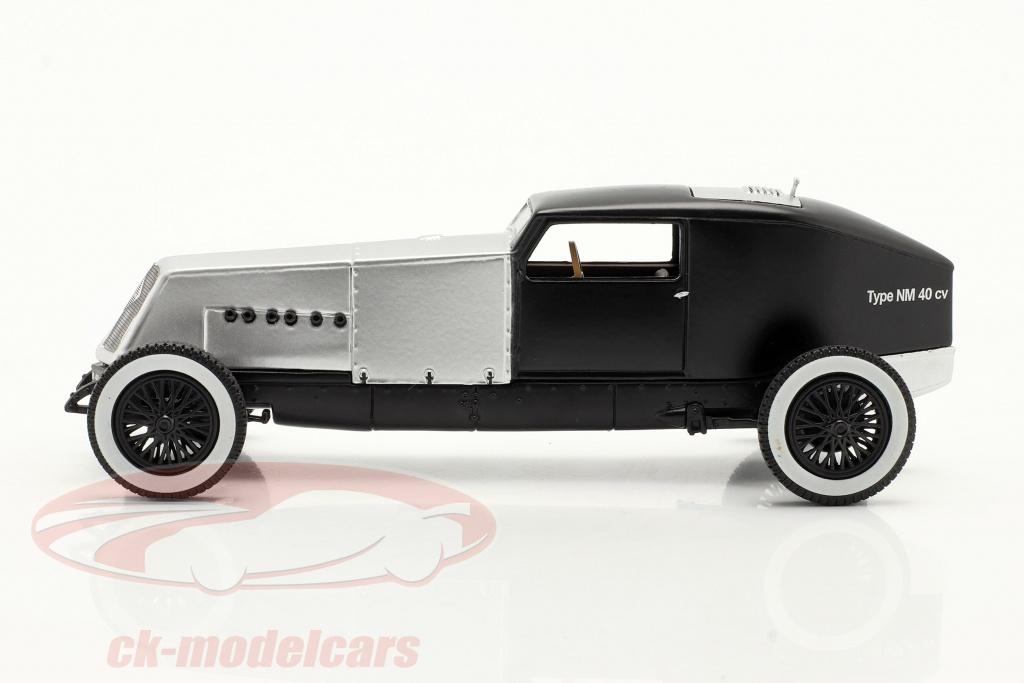 norev-1-43-renault-type-nm-40-cv-anno-di-costruzione-1925-1928-dno39argento-nero-ck70207/