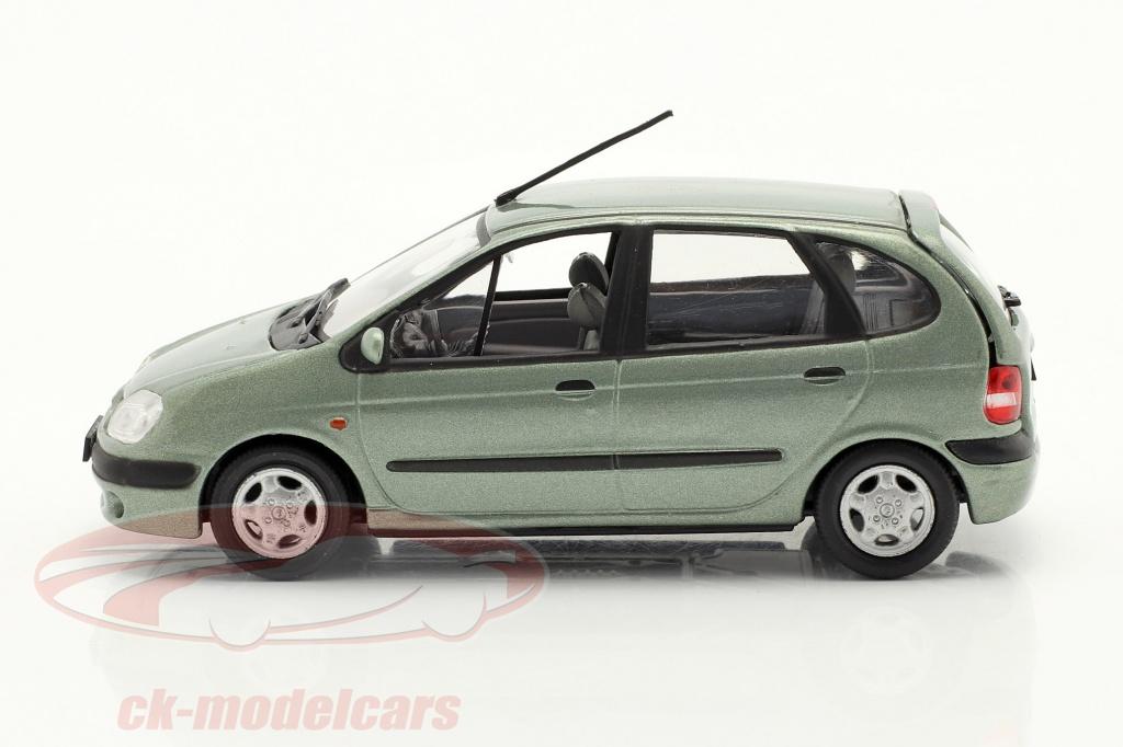 norev-1-43-renault-scenic-annee-de-construction-1999-vert-gris-metallique-ck70222/