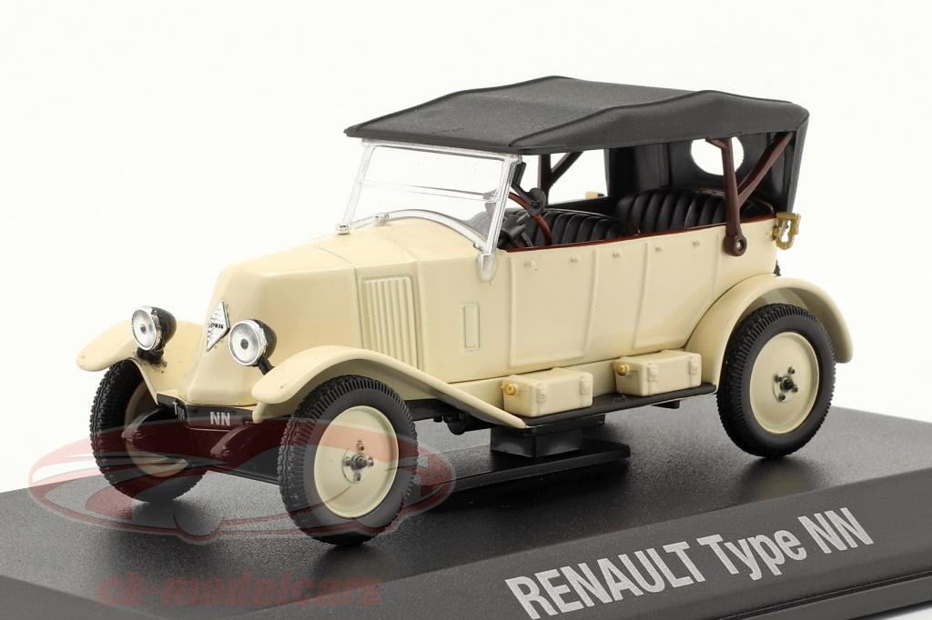 norev-1-43-renault-6cv-type-nn-torpedo-year-1925-cream-white-black-7711575944/