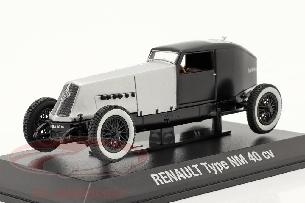 norev-1-43-renault-type-nm-40-cv-bouwjaar-1925-1928-zilver-zwart-7711575959/