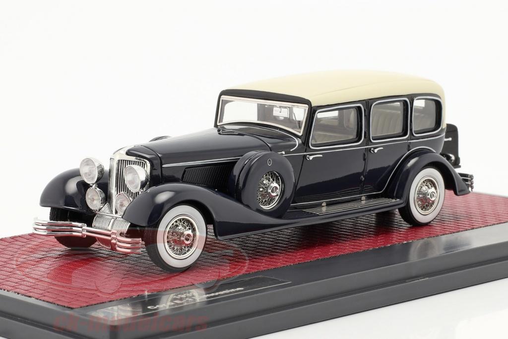 matrix-1-43-cord-e-1-limousine-anno-di-costruzione-1932-blu-scuro-mx50307-031/