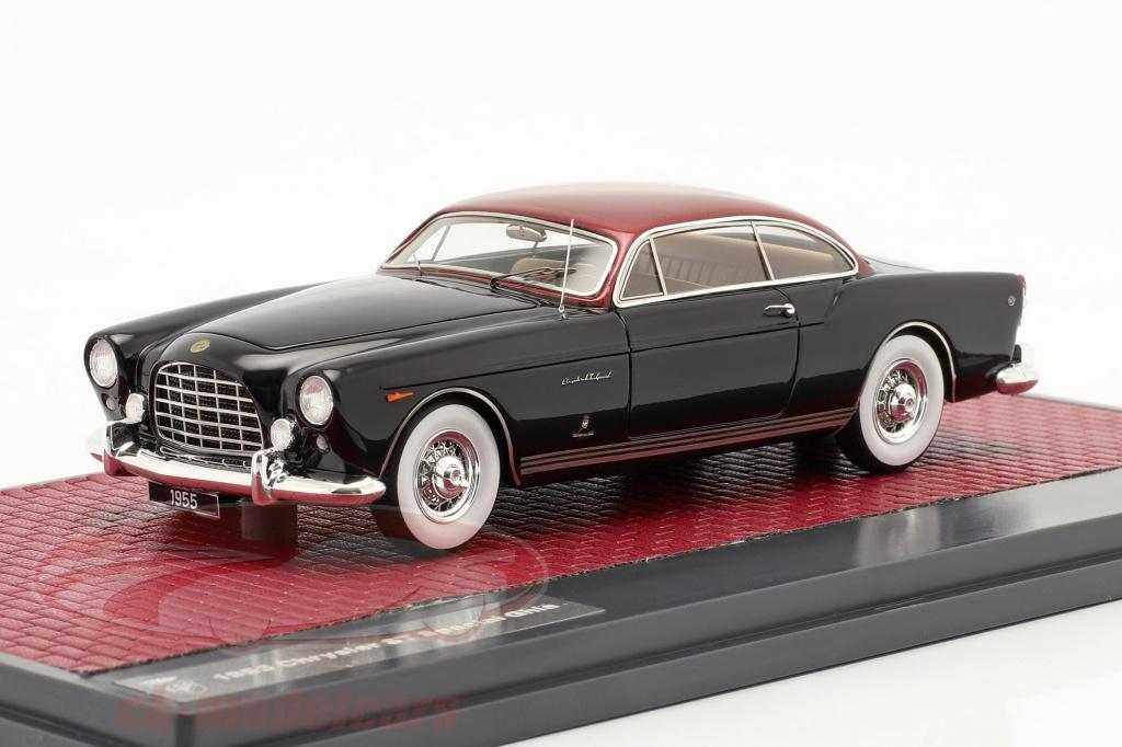 matrix-1-43-chrysler-st-special-ghia-coupe-1953-zwart-rood-metalen-mx40303-012/