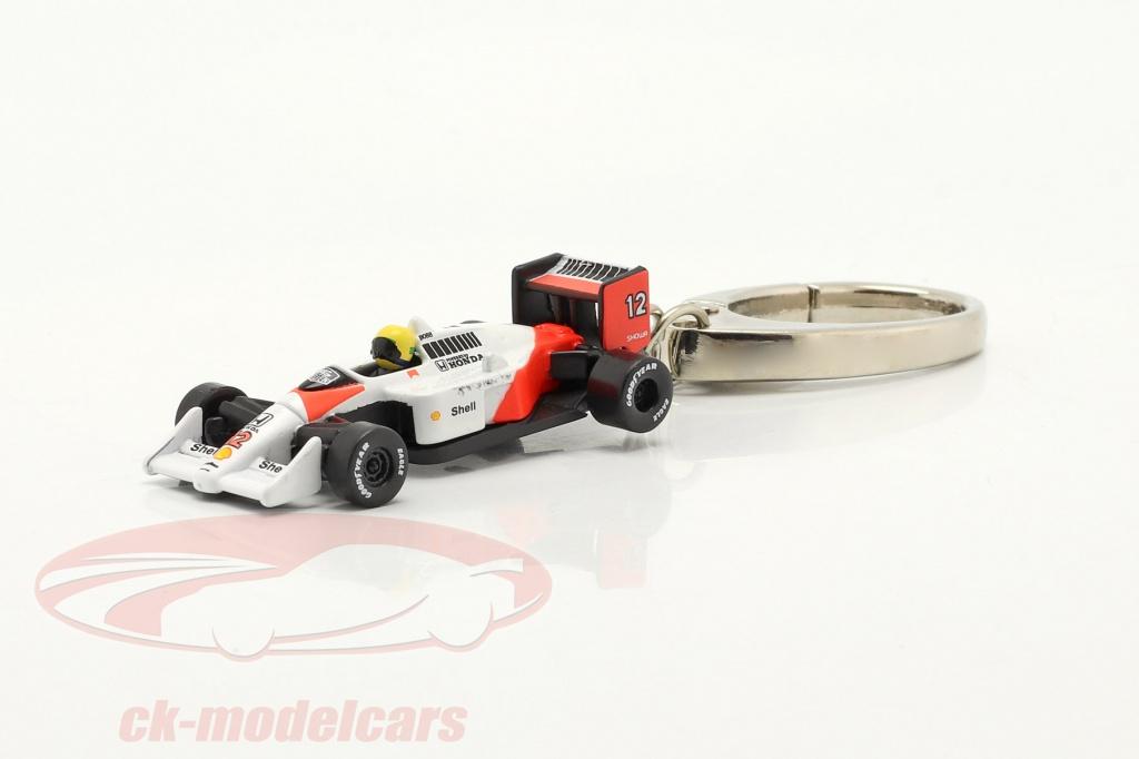 ayrton-senna-keyring-mclaren-mp4-4-no12-formula-1-world-champion-1988-1-87-ixo-sen001k/