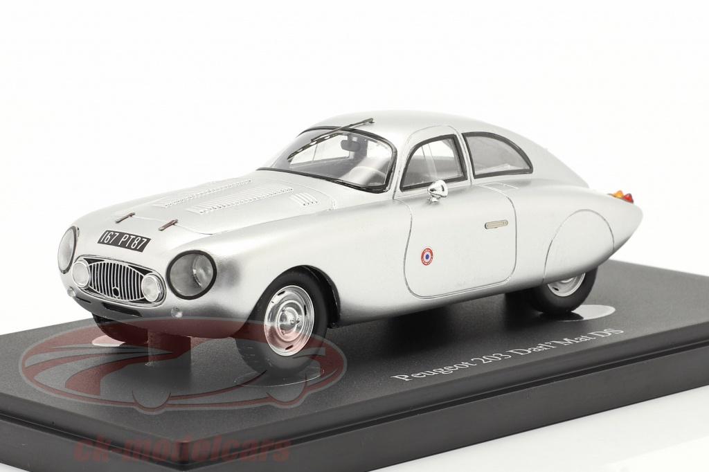 autocult-1-43-peugeot-203-darlmat-ds-anno-di-costruzione-1953-dno39argento-04031/