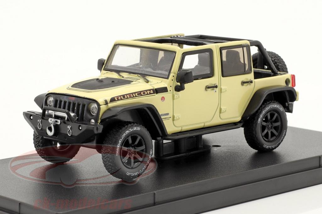 greenlight-1-43-jeep-wrangler-annee-de-construction-2018-unlimited-rubicon-recon-beige-86188/