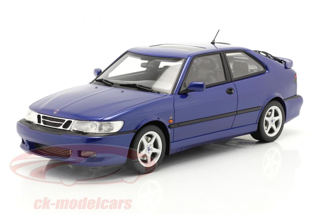 dna-collectibles-1-18-saab-9-3-viggen-coupe-annee-de-construction-2000-bleu-metallique-dna000068/