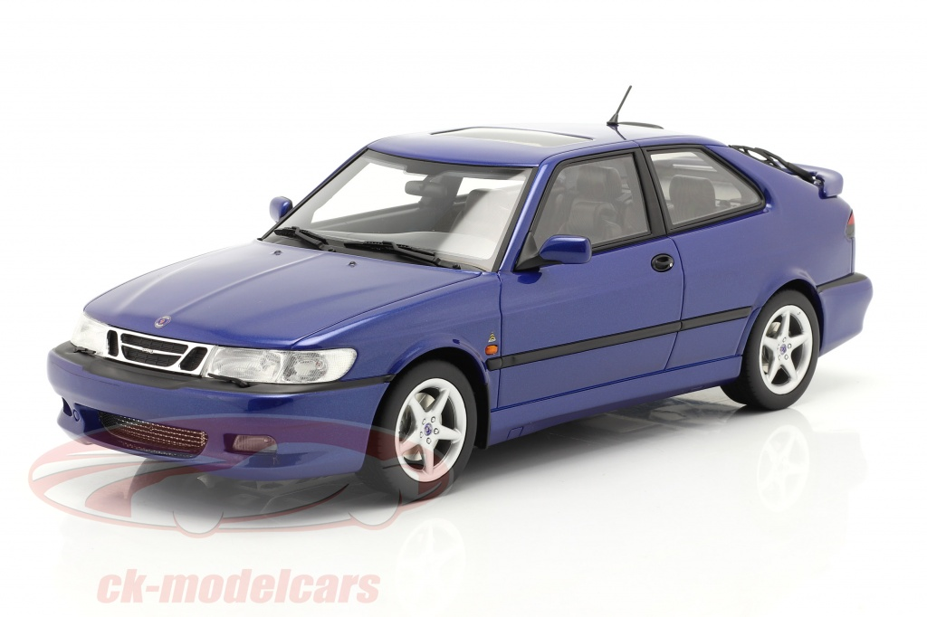 dna-collectibles-1-18-saab-9-3-viggen-coupe-year-2000-blue-metallic-dna000068/