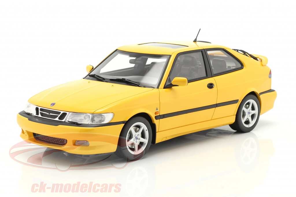 dna-collectibles-1-18-saab-9-3-viggen-coupe-year-2000-yellow-metallic-dna000078/