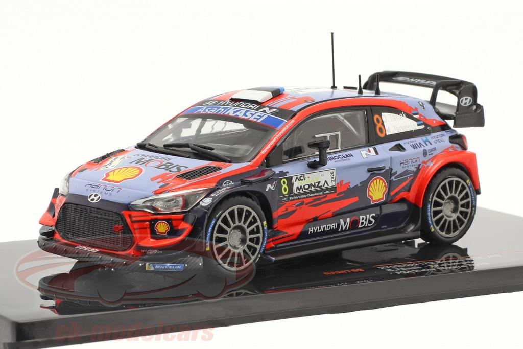 ixo-1-43-hyundai-i20-coupe-wrc-no8-2do-aci-rallye-monza-2020-taenak-jaerveoja-ram769/
