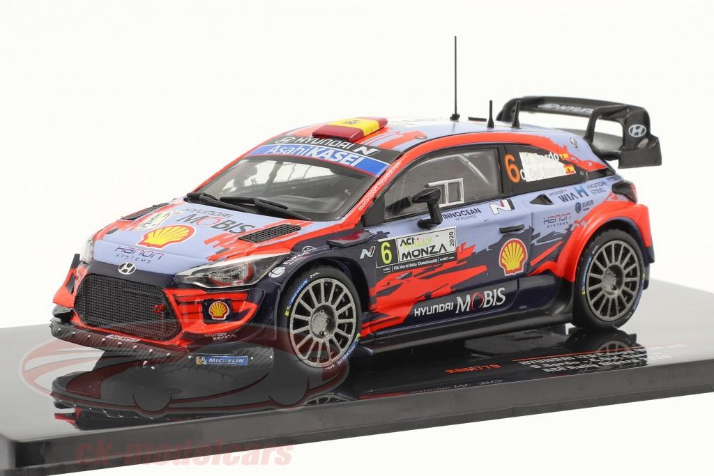 ixo-1-43-hyundai-i20-coupe-wrc-no6-3e-aci-rallye-monza-2020-sordo-del-barrio-ram770/