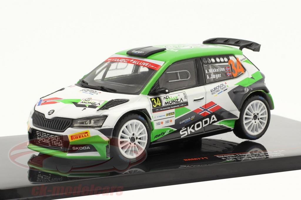 ixo-1-43-skoda-fabia-r5-evo-no34-aci-rally-monza-2020-mikkelsen-jaeger-ram771/