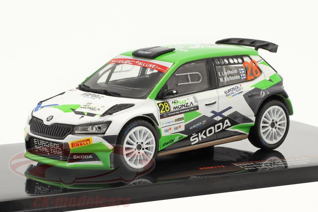 ixo-1-43-skoda-fabia-r5-evo-no28-aci-rally-monza-2020-lindholm-korhonen-ram772/