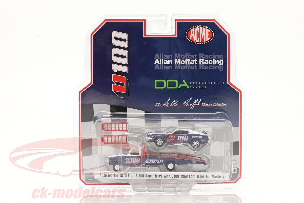 gmp-1-64-ford-f-350-ramp-truck-with-ford-trans-am-mustang-u100-allan-moffat-51342/