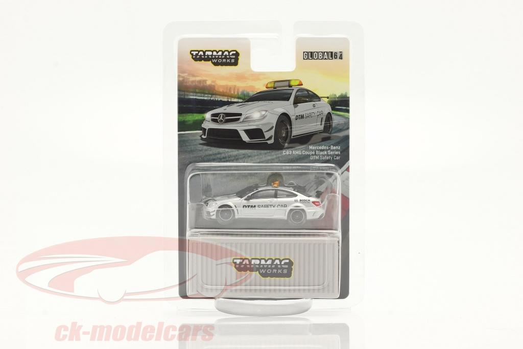 tarmac-works-1-64-mercedes-benz-c63-amg-coupe-black-series-dtm-safety-car-plata-t64g-009-sc/