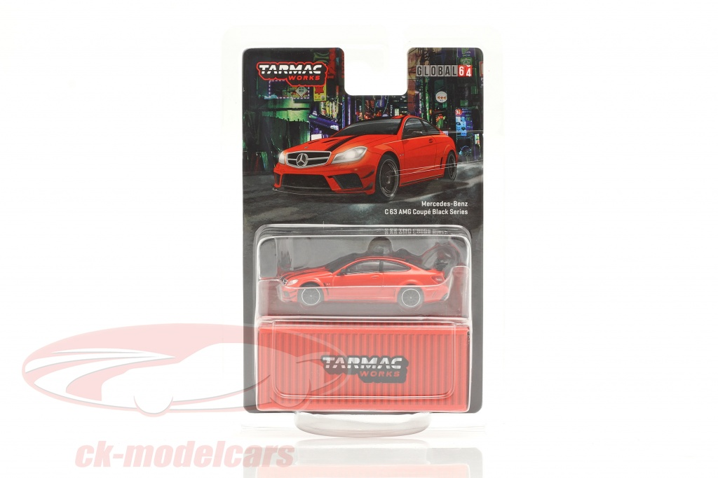 tarmac-works-1-64-mercedes-benz-c63-amg-coupe-black-series-rood-t64g-009-re/