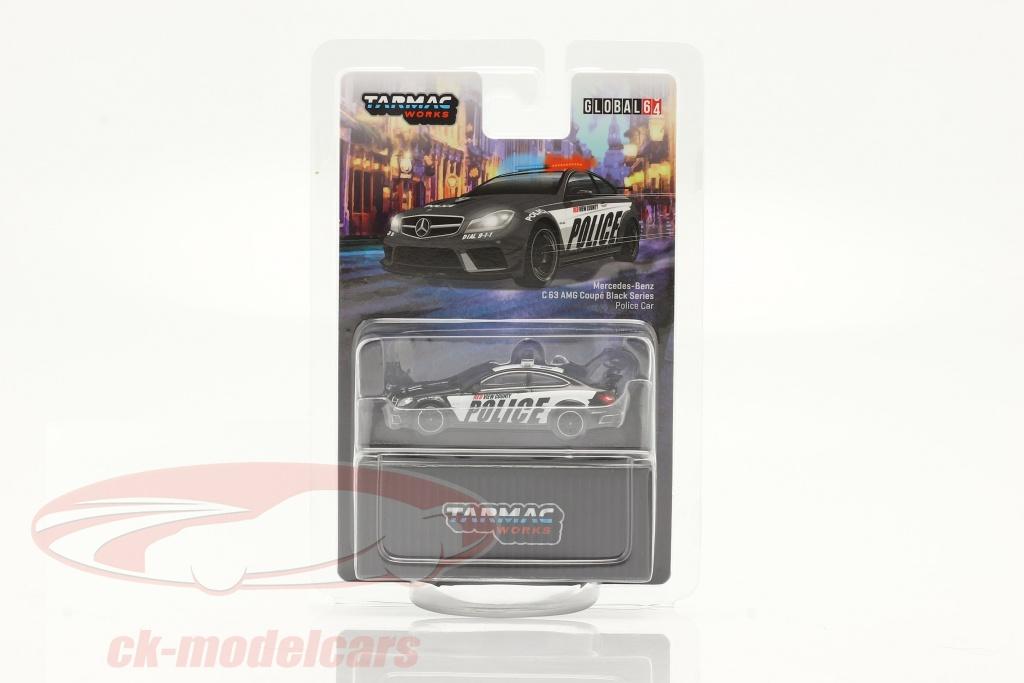 tarmac-works-1-64-mercedes-benz-c63-amg-coupe-black-series-beleid-zwart-wit-t64g-009-pc/