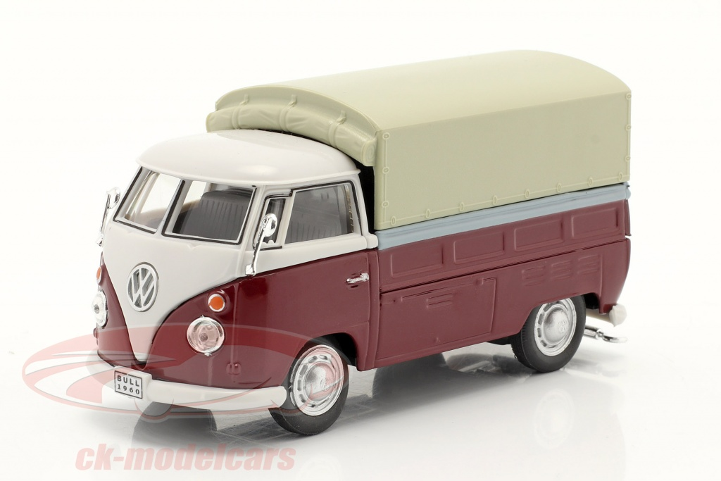 cararama-1-43-volkswagen-vw-t1-pick-up-with-plans-red-beige-251pnd6/