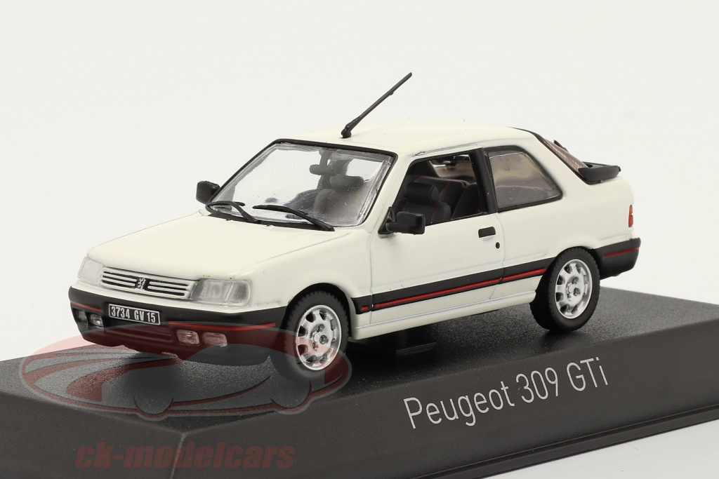 norev-1-43-peugeot-309-gti-baujahr-1987-meije-weiss-473909/