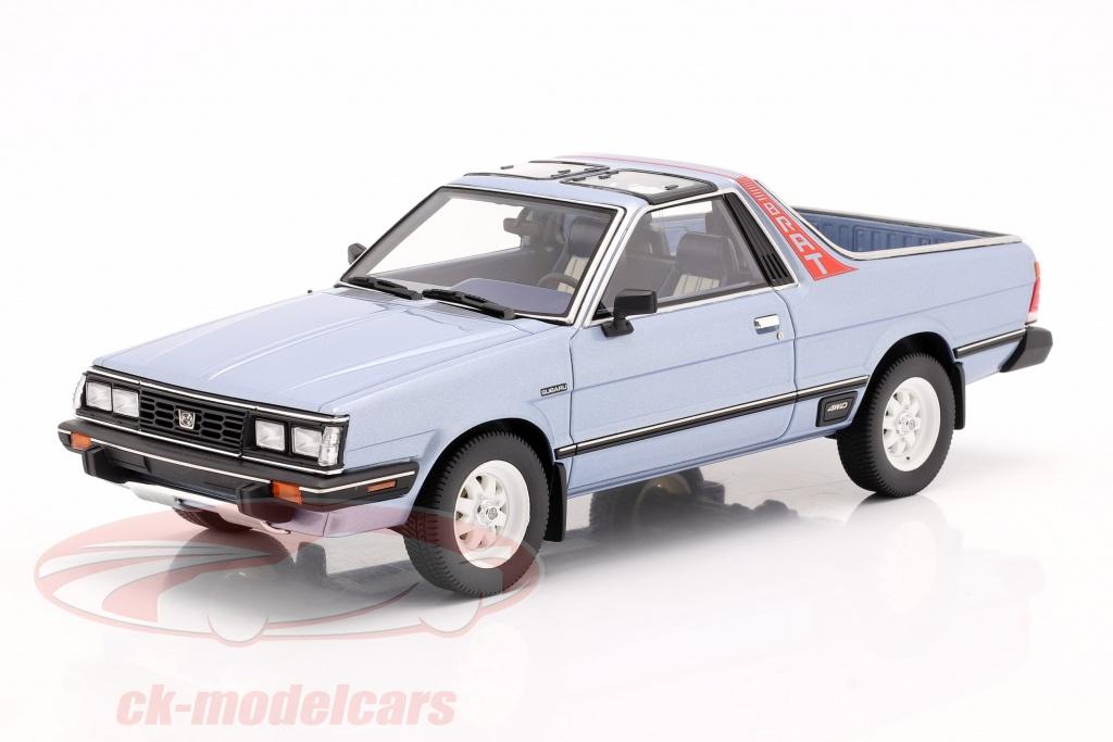 dna-collectibles-1-18-subaru-brat-generation-2-bygger-1986-lysebl-metallisk-dna000062/