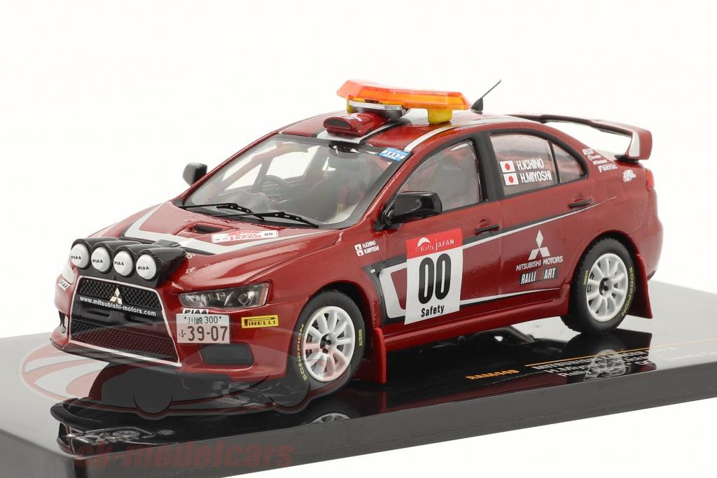 ixo-1-43-mitsubishi-lancer-evo-x-rally-japao-2007-no00-safety-car-ram449/