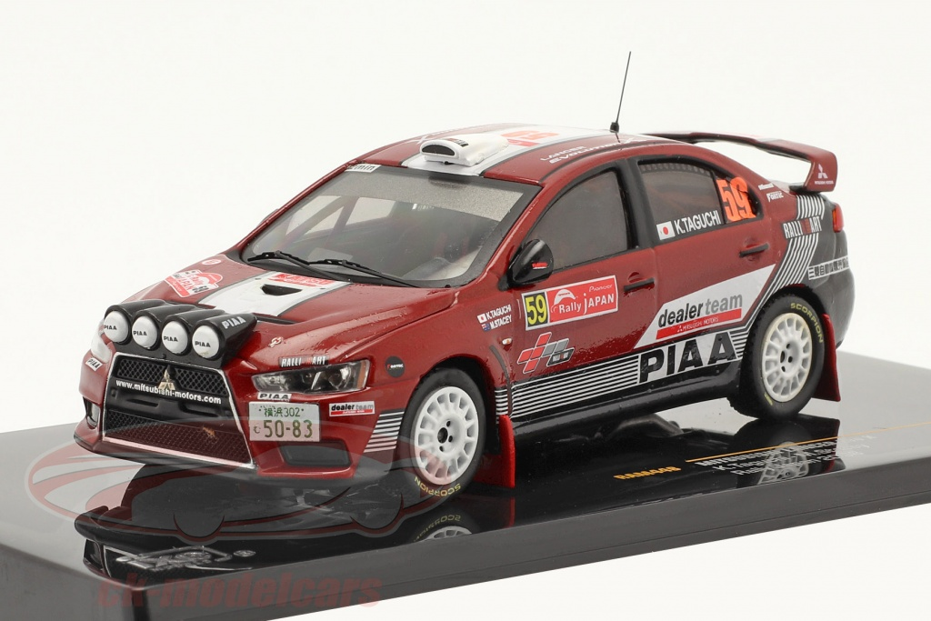 ixo-1-43-mitsubishi-lancer-evo-x-no59-rally-de-japon-2008-ram448/