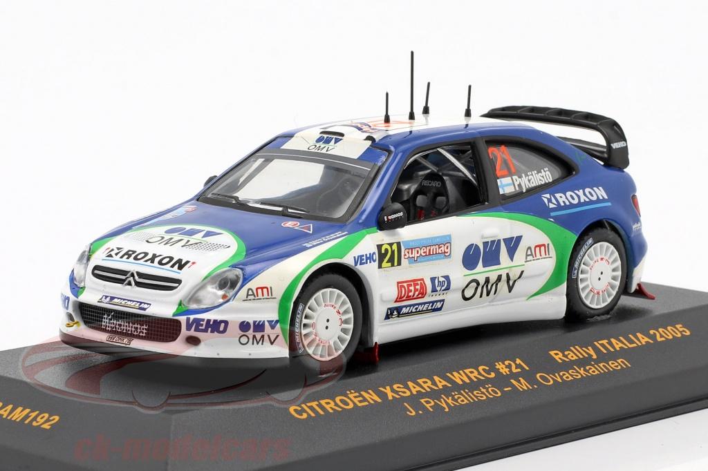 ixo-1-43-citroen-xsara-wrc-no21-rally-italia-2005-ram192/
