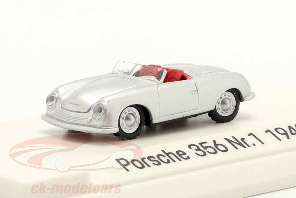 autocraft-1-87-porsche-356-nr1-roadster-bygger-1948-slv-map02335618/