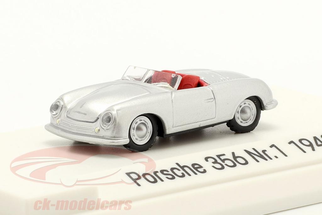 autocraft-1-87-porsche-356-nr1-roadster-year-1948-silver-map02335618/