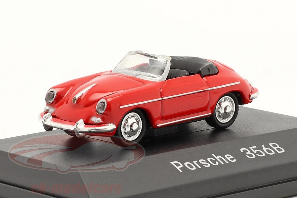 welly-1-87-porsche-356b-cabrio-rood-map02390112/