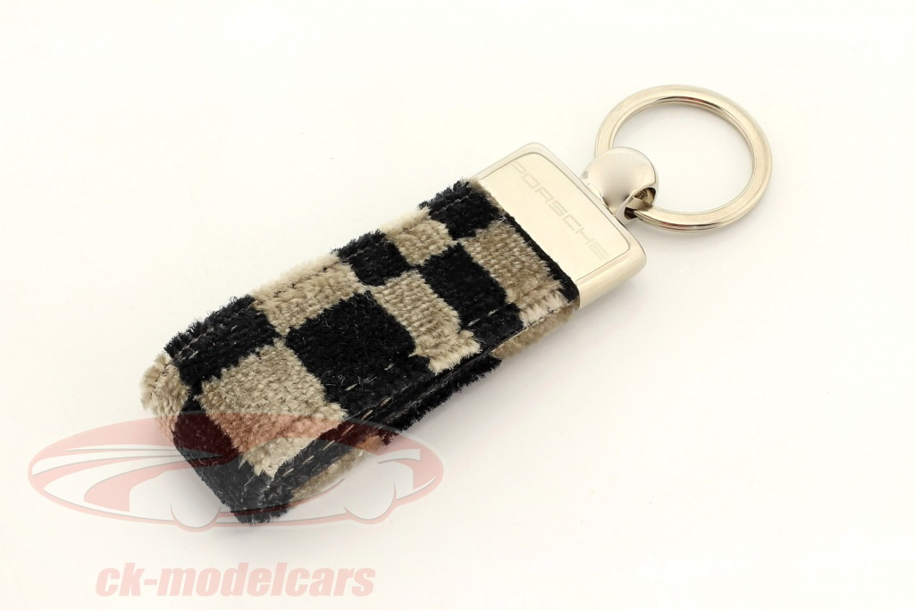 porsche-key-chain-original-seat-fabric-black-beige-map03812016/
