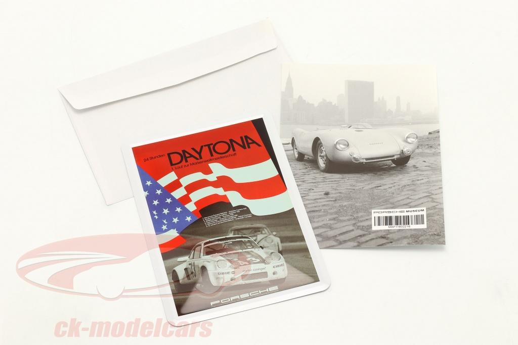 porsche-postal-de-metal-bandera-24h-daytona-1977-map11601616/