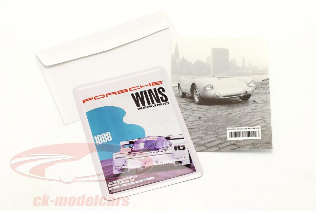 porsche-carte-postale-en-metal-3h-miami-1988-map11602716/