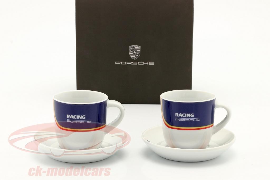 tazzine-da-caffe-set-of-2-porsche-racing-blu-rosso-oro-wap0504020nrth/