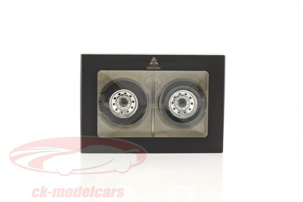 road-kings-1-18-peterbilt-tires-and-rims-set-rear-wheels-chrome-rk18a010/