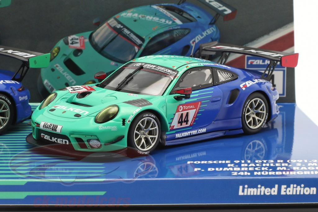minichamps-1-43-2-car-set-porsche-911-gt3-r-no44-no33-24h-nuerburgring-2020-falken-motorsports-413204433/