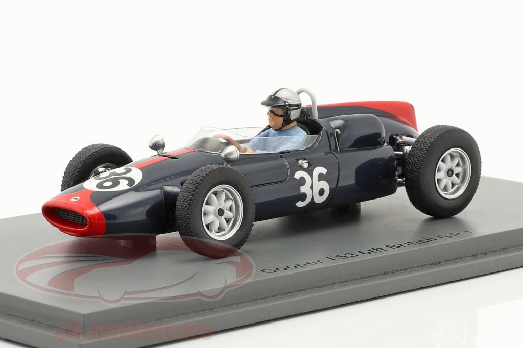 spark-1-43-roy-salvadori-cooper-t53-no36-6th-british-gp-formula-1-1961-s8060/