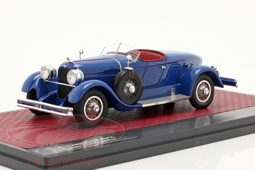 matrix-1-43-duesenberg-model-x-mcfarlan-boat-roadster-1927-blau-mx50406-041/