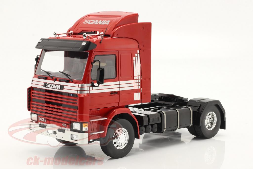 modelcar-group-1-18-scania-143-topline-truck-1987-red-silver-mcg18142/